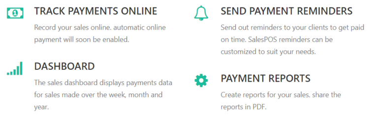 salespal-payment features